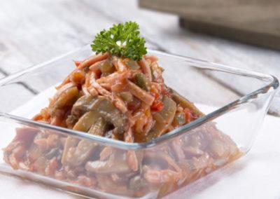 žampionový salát