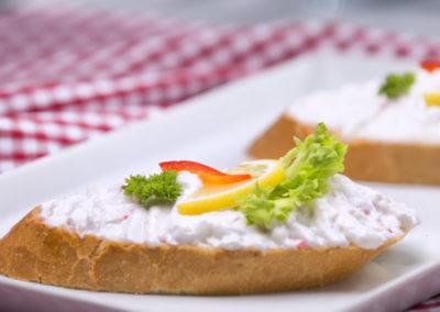 chlebíček humrový