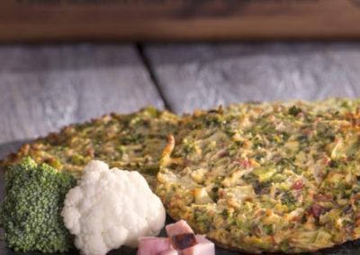 zeleninová placička s uzeným
