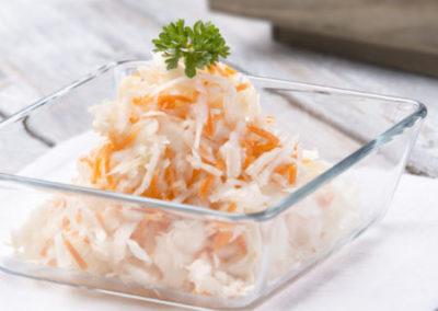 zelny salát s mrkví